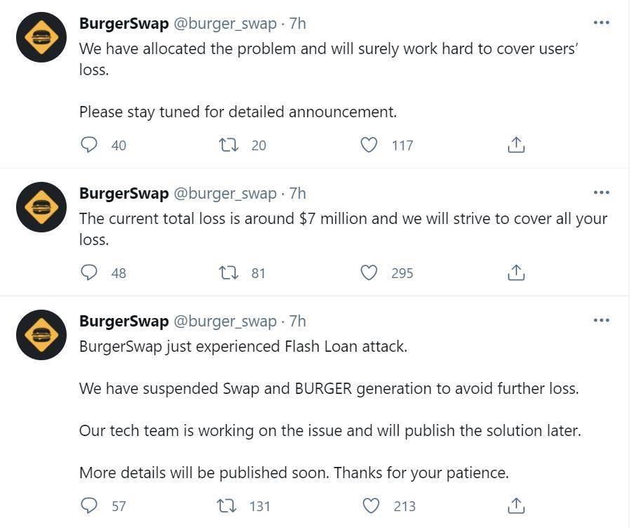 我竟骗了我自己?—— BurgerSwap 被黑分析